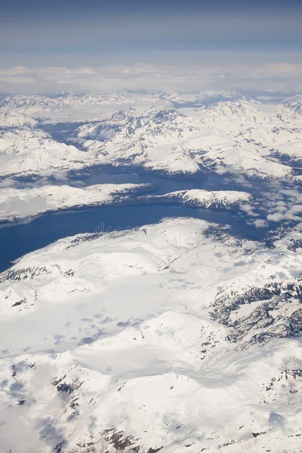 аляскские ледники стоковое изображение rf
