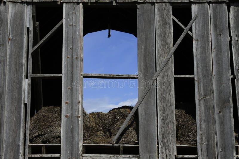 Амбары Midwest стоковая фотография rf