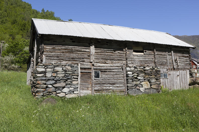 амбар деревянный стоковое фото rf
