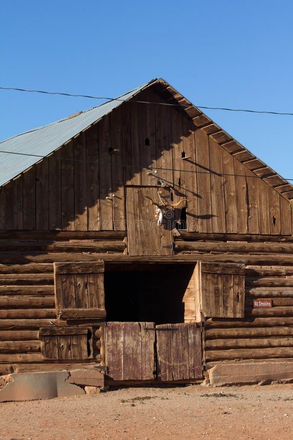Амбар ранчо журнала стоковая фотография rf