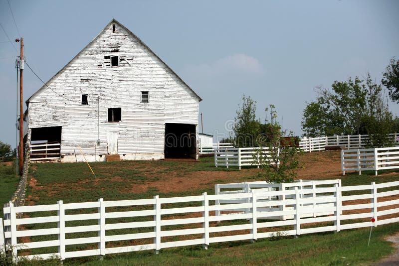 амбар сельский Теннесси стоковые изображения