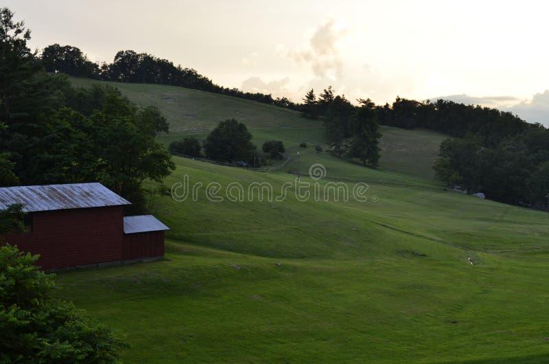 Амбар сельской местности стоковые фото