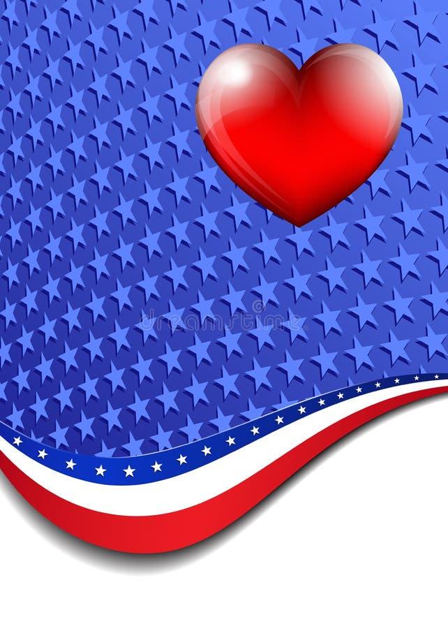 Американец, предпосылка государственный флаг сша бесплатная иллюстрация