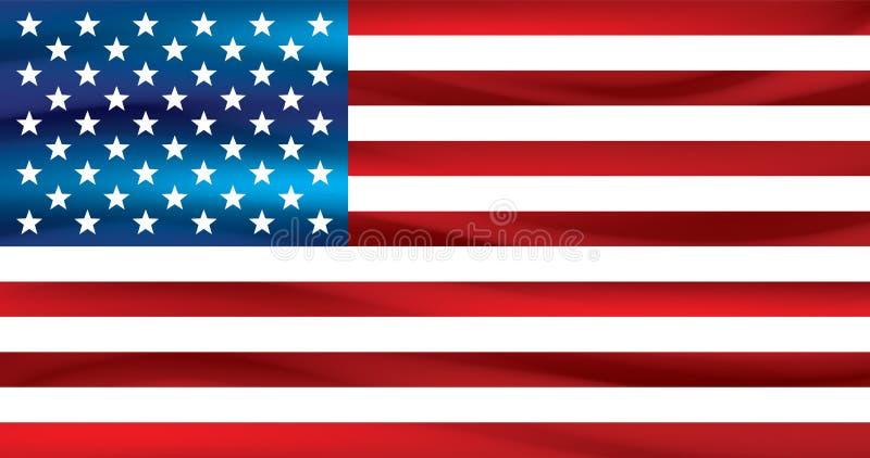 американская белизна флага предпосылки вектор бесплатная иллюстрация