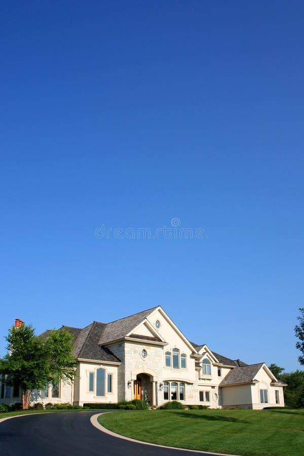 американская дом стоковое изображение rf