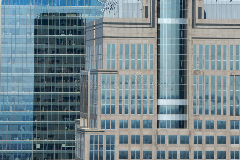 Американская деталь здания стоковая фотография