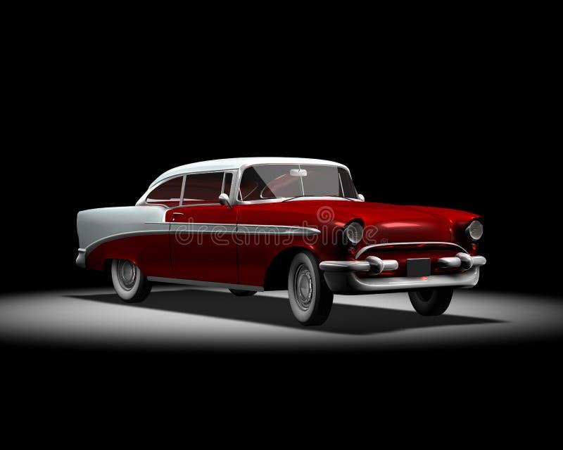 американская классика автомобиля иллюстрация вектора