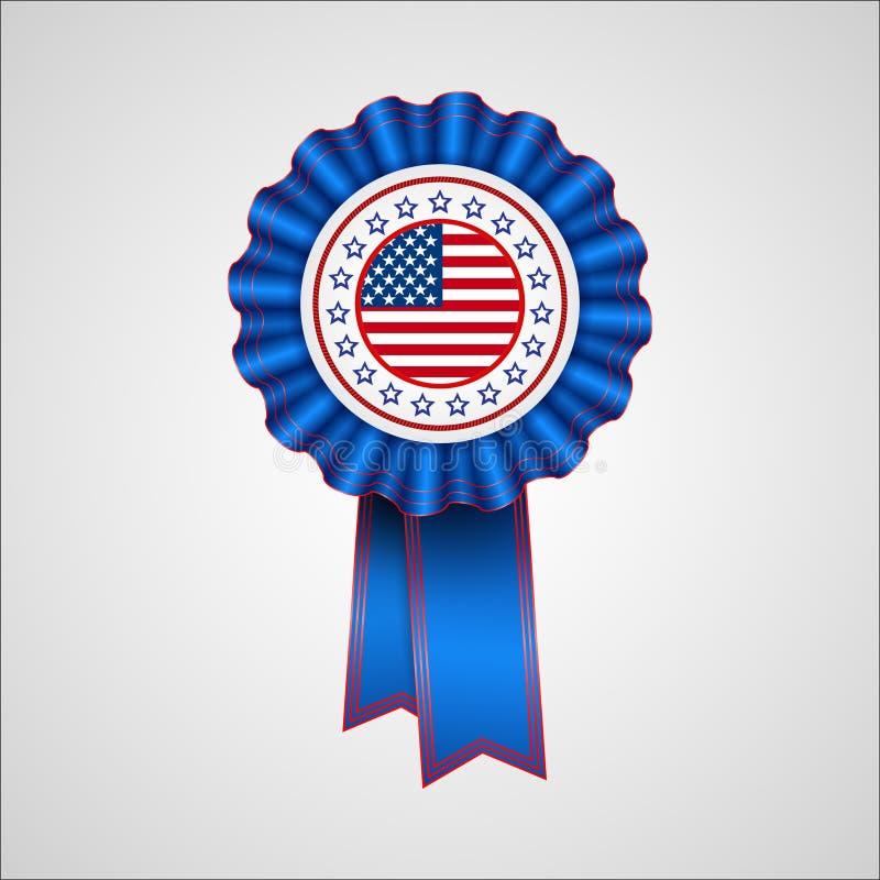 американская независимость дня Значок праздника бесплатная иллюстрация