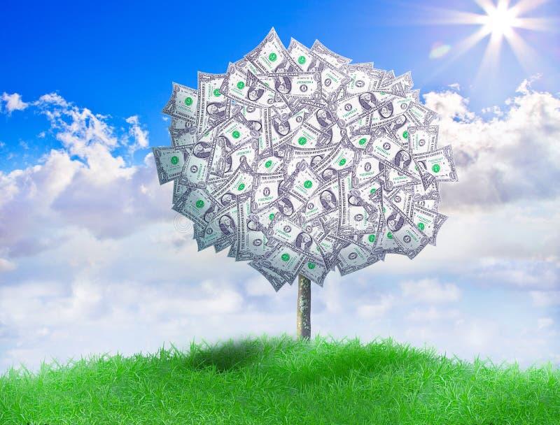 Американские деньги Trey стоковое изображение