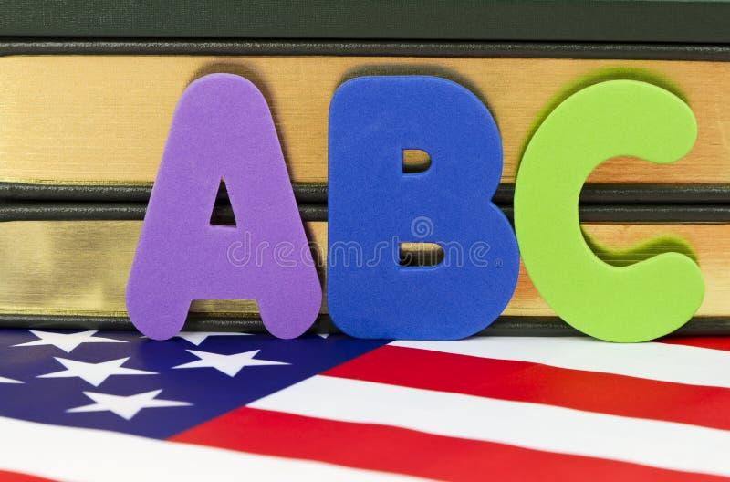 американские школы стоковое фото