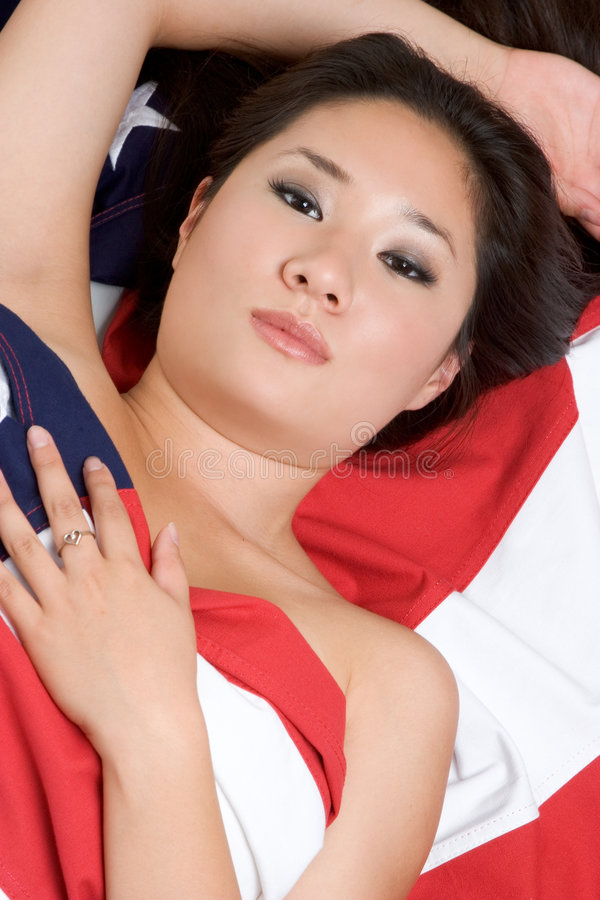 американский азиат стоковое фото