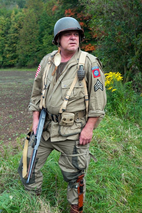 американский воин стоковые изображения