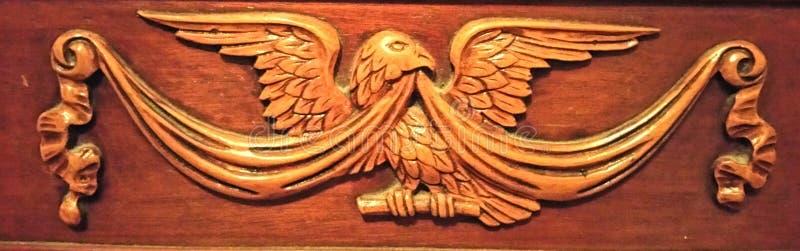 Американский высекать орла стоковое изображение rf