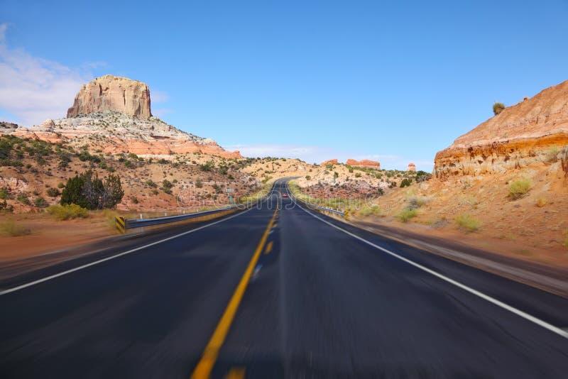 американский высокий туризм скорости хайвея стоковые изображения