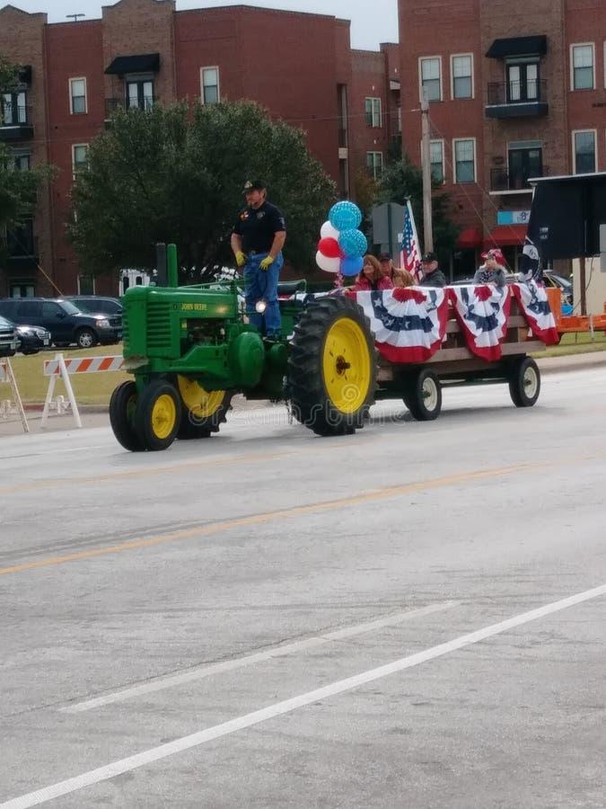 американский готский трактор стоковое изображение