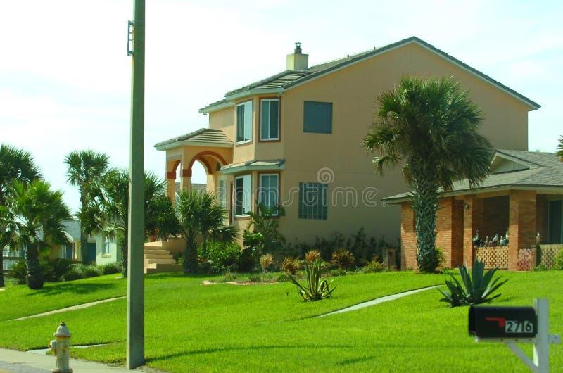 американский дом типичный стоковое изображение rf