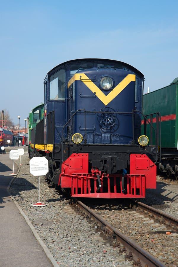 Download Американский локомотив RSD-1 Da-20 1942 построенного для СССР в музее железнодорожного транспорта Oktyabrskaya Railw Редакционное Стоковое Изображение - изображение насчитывающей рельс, поезд: 81809949