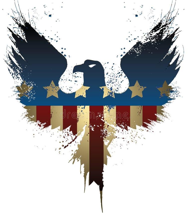 Американский орел бесплатная иллюстрация