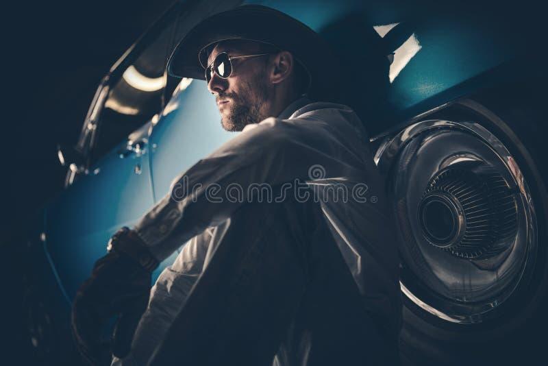 Американский портрет ковбоя стоковое изображение