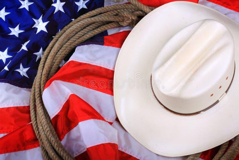 Американский символ ковбоя  стоковые изображения rf