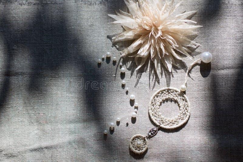 американский уроженец dreamcatcher стоковая фотография rf