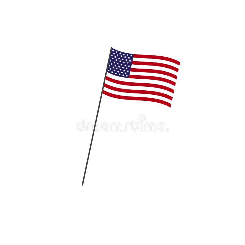 американский флаг независимость grunge дня предпосылки ретро зацепляет икону бесплатная иллюстрация