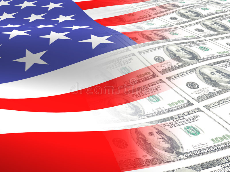 американский флаг стоковая фотография rf