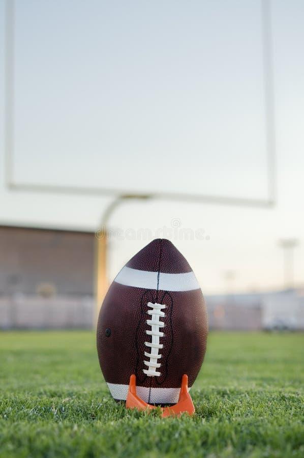 американский футбол поля стоковое изображение rf