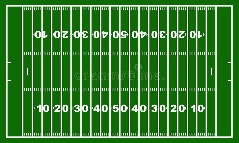 американский футбол поля бесплатная иллюстрация