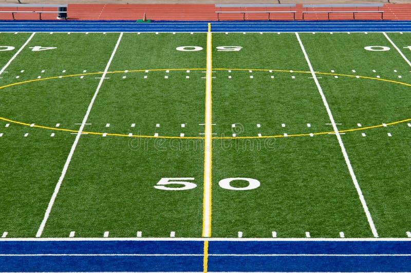 американский футбол поля стоковое фото rf