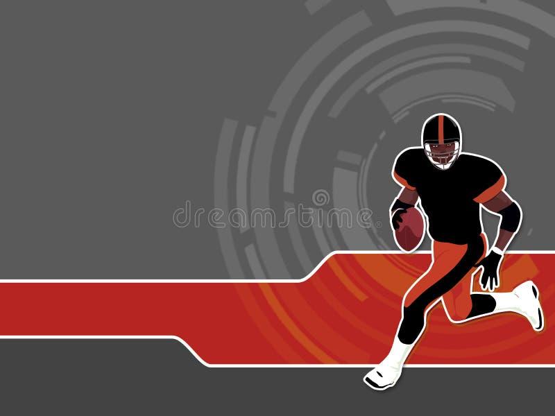 американский футбол 2 иллюстрация штока