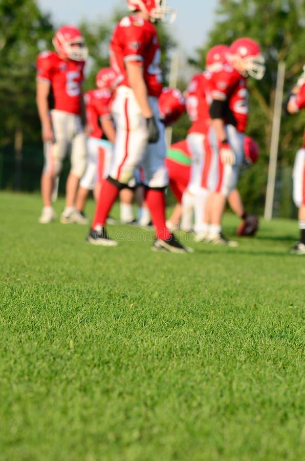 Американский футбол стоковое изображение rf
