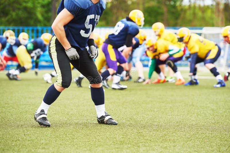 американский футболист стоковая фотография rf
