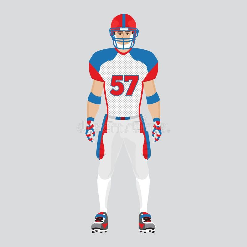 американский футболист бесплатная иллюстрация