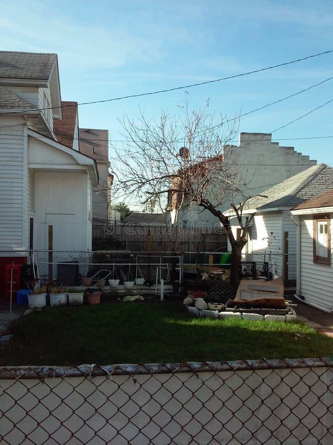 Американский шарм двора стоковое изображение rf