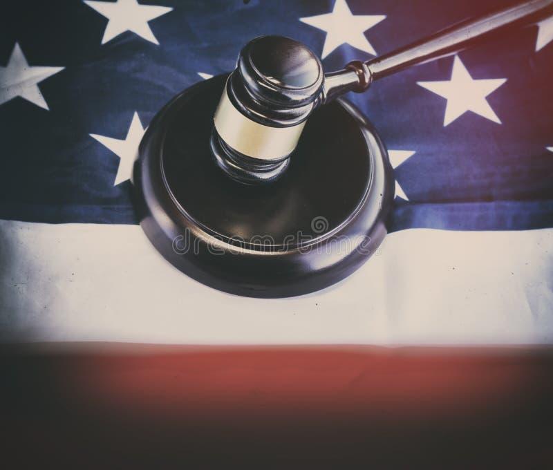 Американское законное изображение концепции закона стоковое фото