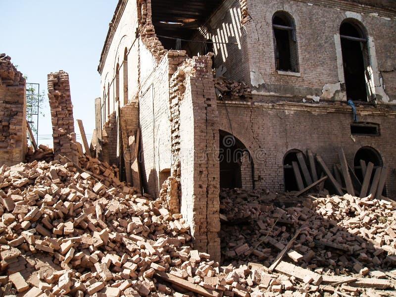 Американское нападение консулата в Пешаваре, Пакистане стоковая фотография