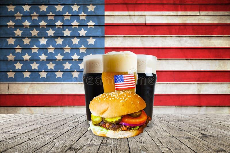 Американское пиво ремесла стоковая фотография