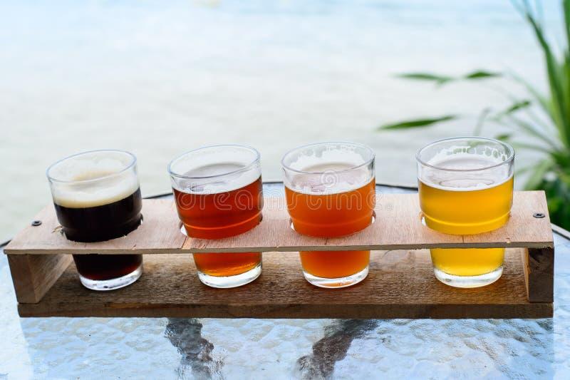 Американское пиво ремесла стоковое фото