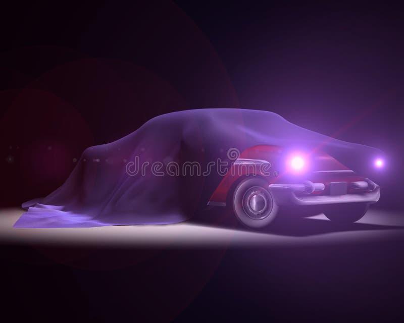 американское представление классики автомобиля иллюстрация штока