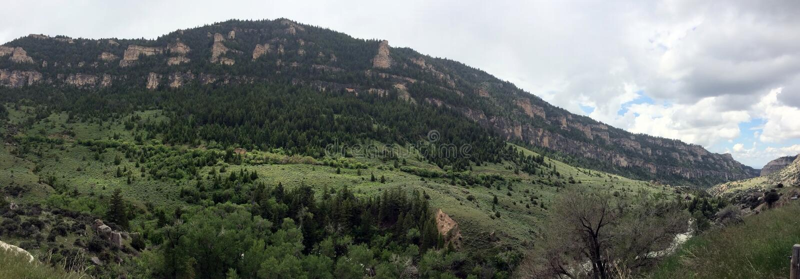 Америка красивое: Большие горы рожка, волнистый Вайоминг стоковая фотография