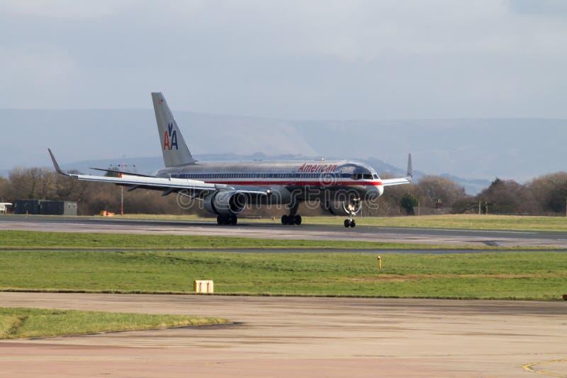 Америкэн эрлайнз Боинг 767 стоковая фотография rf