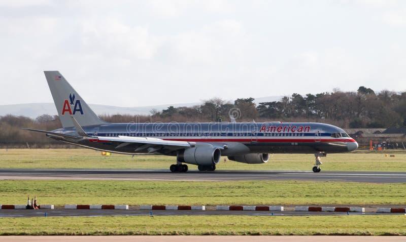 Америкэн эрлайнз Боинг 767 стоковые изображения rf