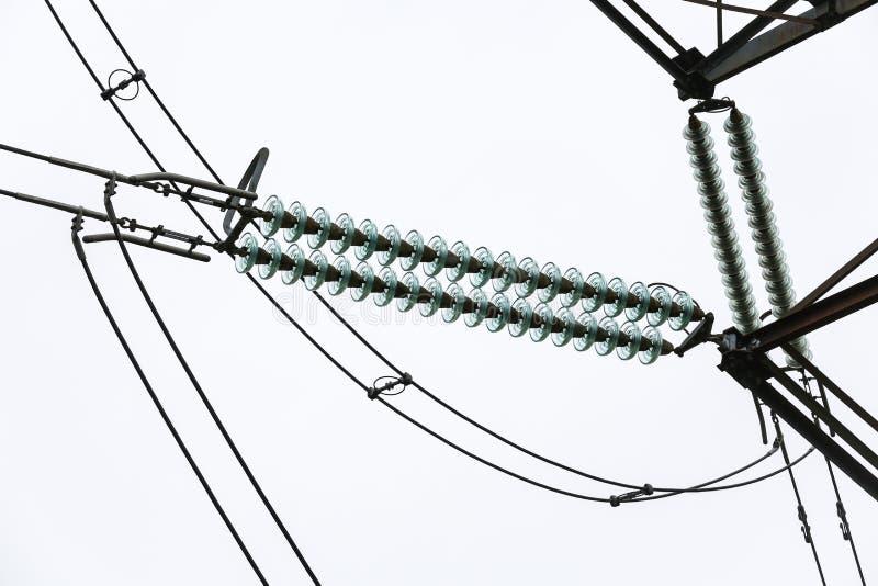 Амортизатор и провода стоковые фото
