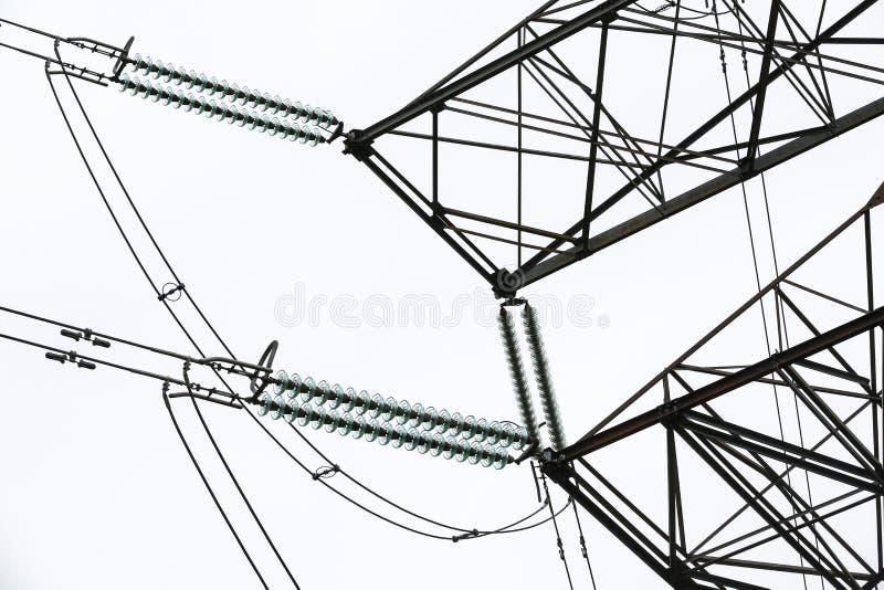 Амортизатор и провода стоковое изображение rf