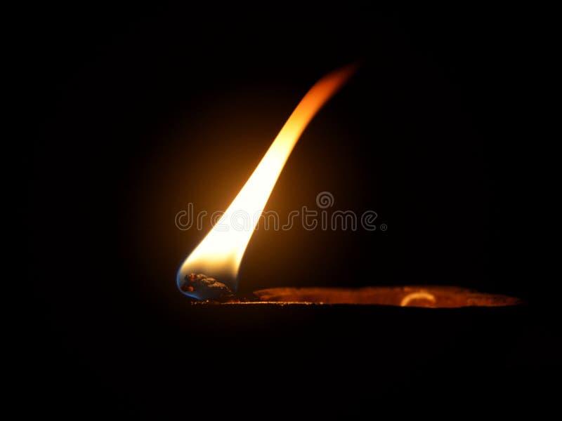 лампа огня стоковые изображения rf