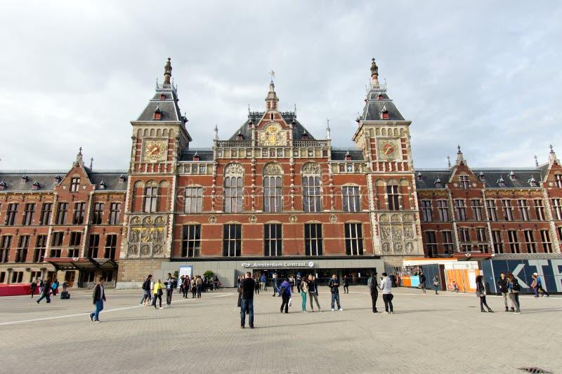 Амстердам Centraal стоковые фото
