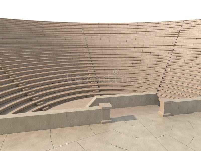 амфитеатр иллюстрация вектора