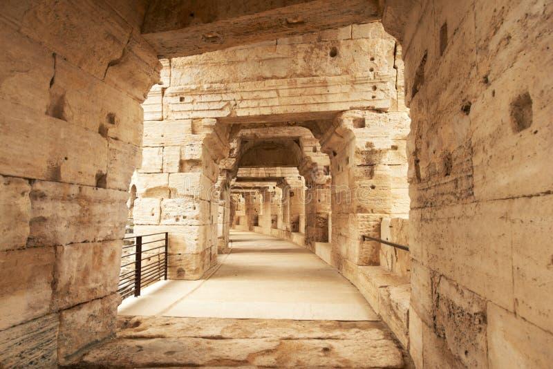 Амфитеатр Arles, Франция стоковые фотографии rf