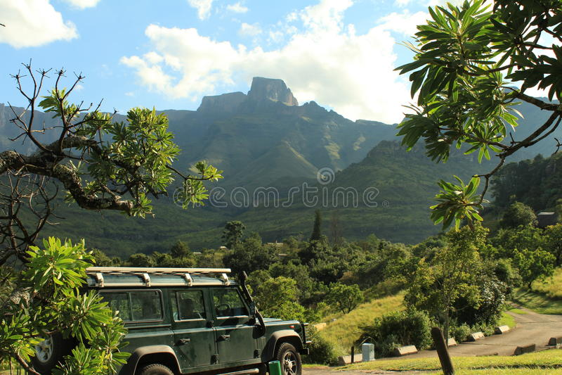Амфитеатр Drakensberg стоковые фото